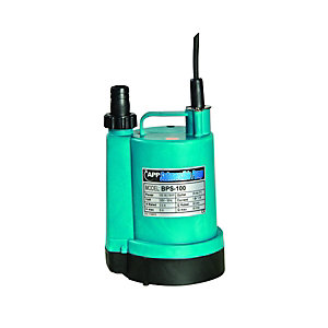 Bibus Submersible Sump Pump 100W Manual 1""