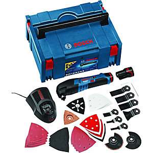 Bosch GOP 10.8v Multi Tool With 36 Piece Accessory Kit