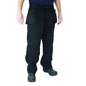 Scruffs Worker Lite Trousers Twin Pack Black/Grey 30W 31L