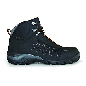 Scruffs Juro Safety Boots Black Size 7