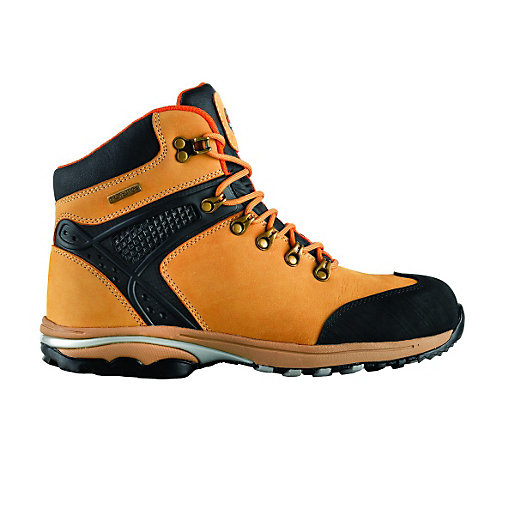 Scruffs Nemesis Safety Hiker Tan Size 7