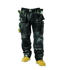 Scruffs Pro Trousers Black 34W 31L