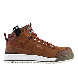 Scruffs Switchback Boots Brown