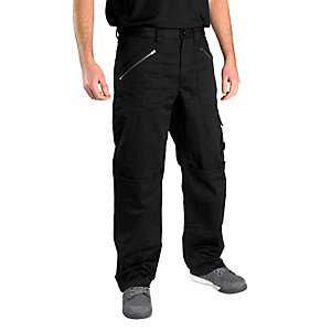 Scruffs Hardcore Worker Trousers Black 36W 32L