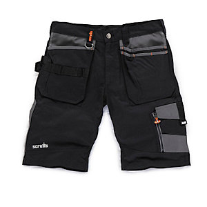 Scruffs Black Trade Short 32w
