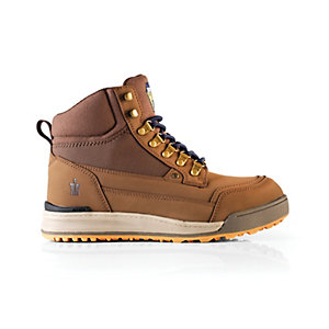 Scruffs Hook Brown Boot Sz 8