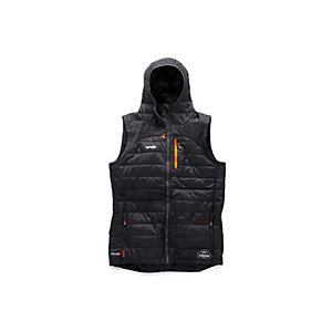 Scruffs Expedition Thermo Hooded Gilet Black S