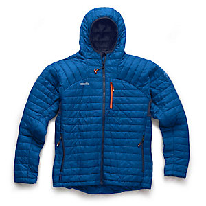 Scruffs Expedition Thermo Hooded Jacket Blue XL