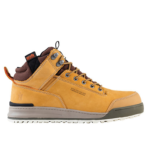 Scruffs Switchback Safety Boot Tan Wickes Co Uk