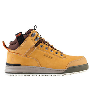 Scruffs Switchback Safety Boot Tan Size 9