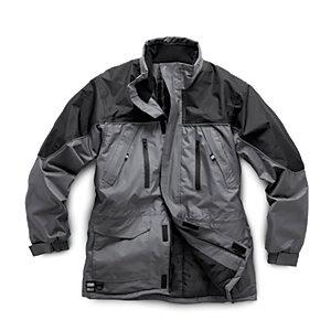Hardcore Jacket Grey & Black Large