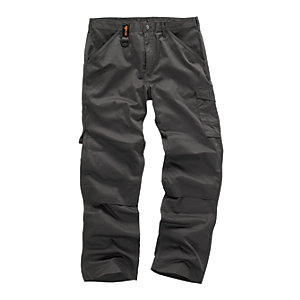 Scruffs Worker Trouser Graphite Reg Leg