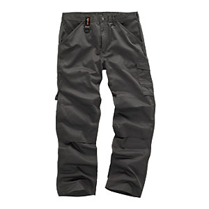 Scruffs Worker Trouser Graphite Long Leg