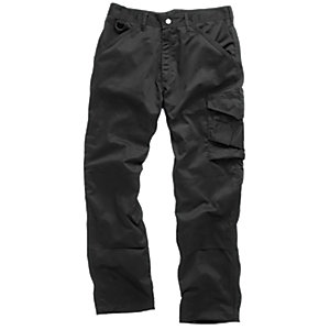 Scruffs Worker Trousers Black Extra Long Leg