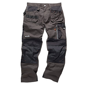 Scruffs 3D Trade Trousers Graphite Extra Long Leg