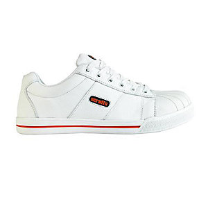 Scruffs Lunar Safety Trainer White