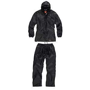 Scruffs Rain Suit Black