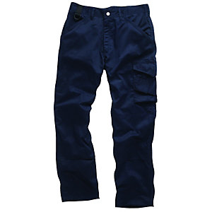 Scruffs Work Trousers Navy 40W 33L