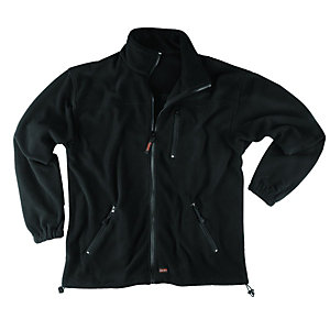 Scruffs Work Fleece Jacket Black