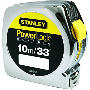 Stanley Powerlock Tape Measure 10m
