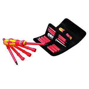 Wera VDE Interchangeable Pro Kit 18 Piece
