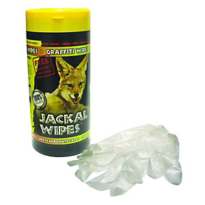 Image of Jackal Heavy Duty Graffiti Wipe Tub 80 Sheets