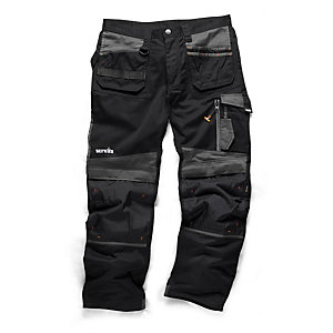 Scruffs 3D Trade Trouser Black 32inW 33inL