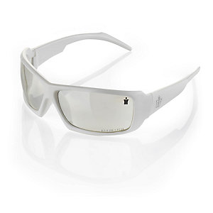 Scruffs Eagle Safety Specs White Frame