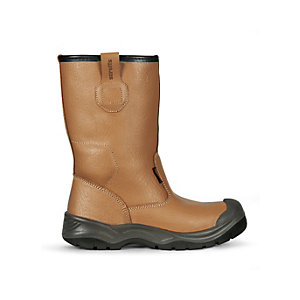 Scruffs Gravity Safety Rigger Boot Tan Size 8