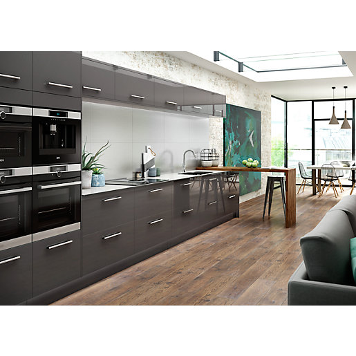 Nordica Grey Kitchen Range