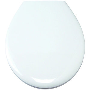 Wickes Hamilton/Fiji Soft Close White Toilet Seat