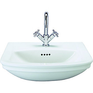 Wickes Belize Semi-Recessed Basin 560mm