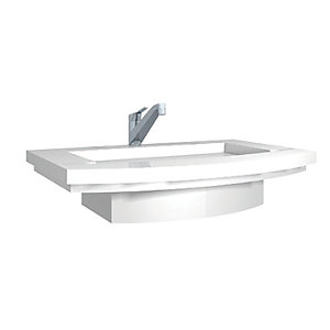 Wickes Mode Curved Vanity Basin 900mm