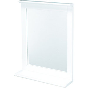 Wickes Rectangular Bathroom Mirror With Shelf