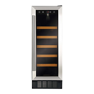 Cda Wine Cooler Stainless Steel 300mm