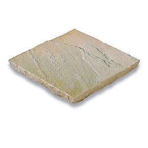 Bradstone Natural Sandstone Paving Slab Fossil Buff 600 x 300 x 22mm