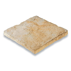 Bradstone Old Town Paving Slab Weathered Limestone 300mm x 300mm x 40mm