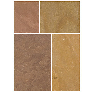 Bradstone Natural Sandstone Patio Pack Modac 4570mm x 3340mm x 22mm