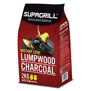 Supa Instant Light Lumpwood Charcoal 2kg