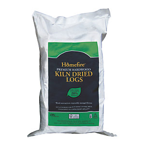 Kiln Dried Hardwood Logs Large Bag