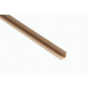 Wickes Pine Angle Moulding 34 x 34 x 2400mm