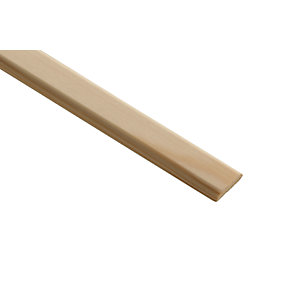 Wickes Pine D-Shape Moulding 21 x 4 x 2400mm