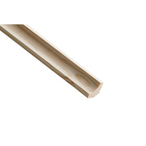 Wickes Pine Scotia Moulding 18 x 18 x 2400mm