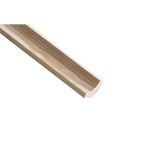 Wickes Pine Scotia Moulding 21 x 21 x 2400mm
