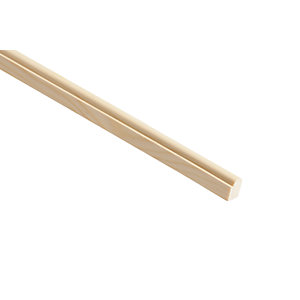 Wickes Pine Staff Bead Moulding 20 x 15 x 2400mm