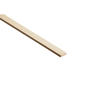 Wickes Pine Stripwood Moulding (PSE) 9 x 34 x 2400mm