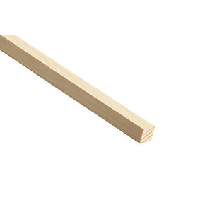Wickes Pine Stripwood Moulding (PSE) 15 x 15 x 2400mm