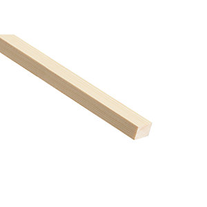 Wickes Pine Stripwood Moulding (PSE) 15 x 25 x 2400mm