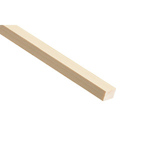 Wickes Pine Stripwood Moulding (PSE) 21 x 25 x 2400mm
