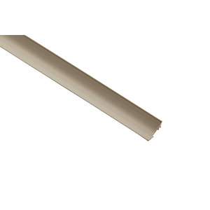 Wickes PVC Scotia Moulding 18 x 18 x 2400mm